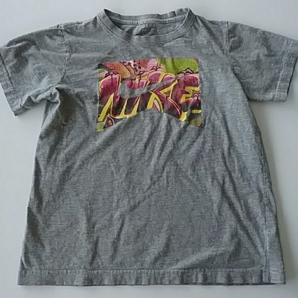 Nike Other - NIKE Kid's Tee T-shirt Floral